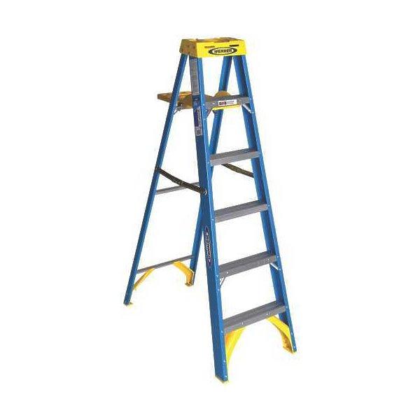 Type I 6 Foot Fiberglass Step Ladder