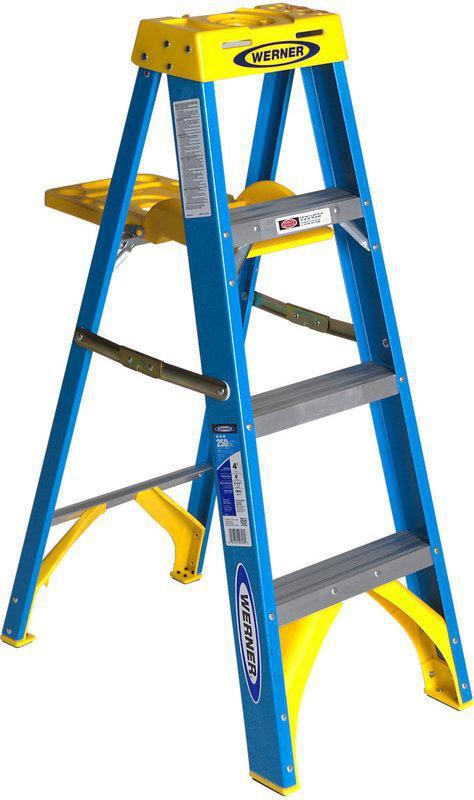 Type I 4 Foot Fiberglass Ladder