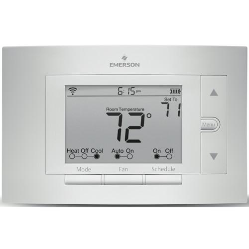 Sensi Wi-Fi Programmable Thermostat, Universal, 4 Heat / 2 Cool