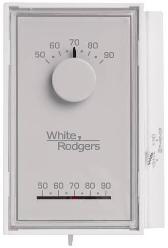 White/Rogers Mercury Free Single Stage Thermostat