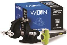WILTON� TRADESMAN VISE, 5-1/2 IN. JAW WIDTH, 5 IN. JAW OPENING, 3-3/4 IN. THROAT DEPTH