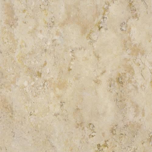 """12""""x12"""" .08 Gauge Earthwerks Winton Adobe Stone Self-Adhesive Vinyl Floor Tile, Cream And Beige"""