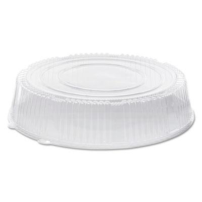 "Caterline Dome Lids, Plastic, 18"" Diameter x 3 5/8""High, Clear, 25/Carton"