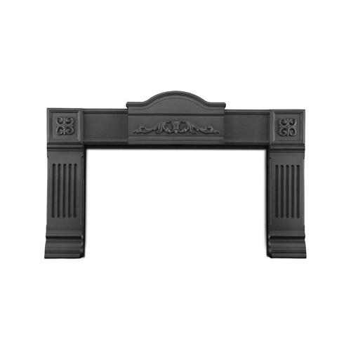 Cism-A Black Fireplace Surround Kit
