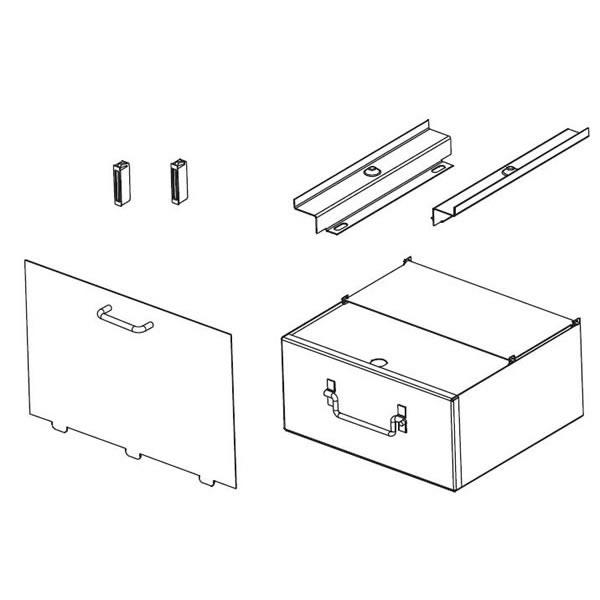 EP20PAD Pedestal Model Ash Pan Kit