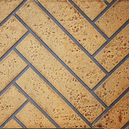 GD822KT Herringbone Decorative Brick Panels, Sandstone