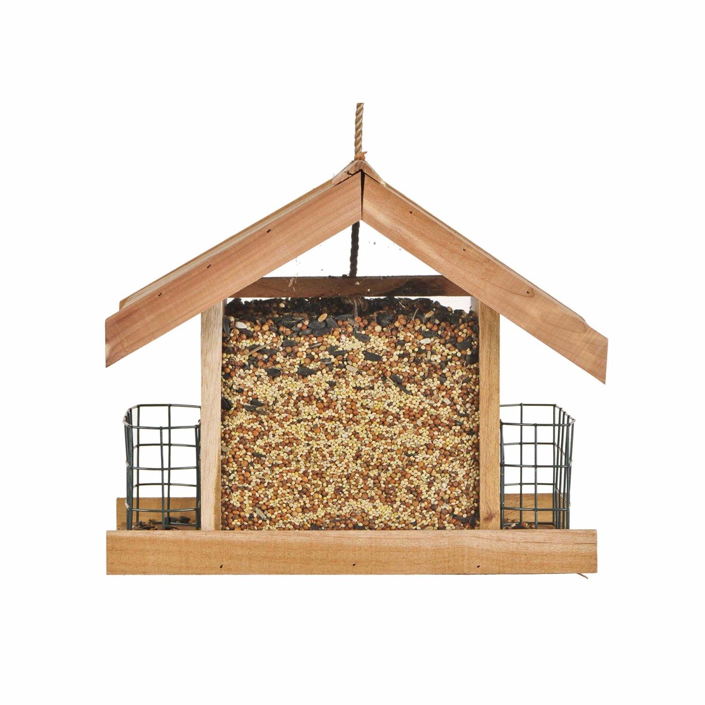 50144 Deluxe Cedar Chalet Bird Feeder