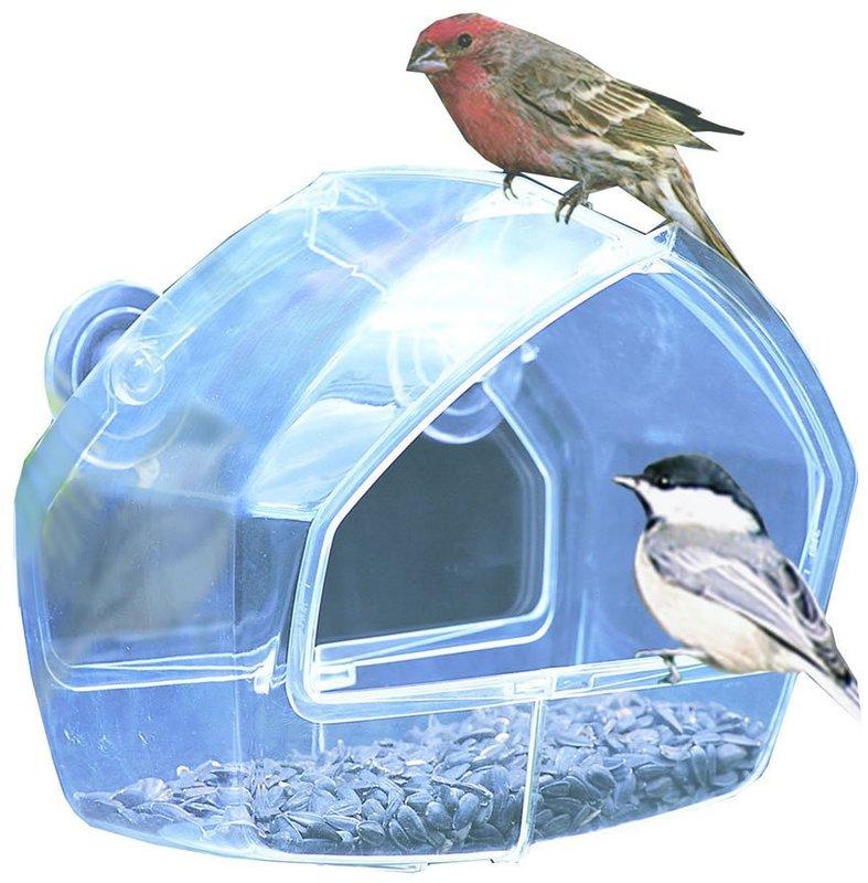 348 WINDOW SEED Bird Feeder