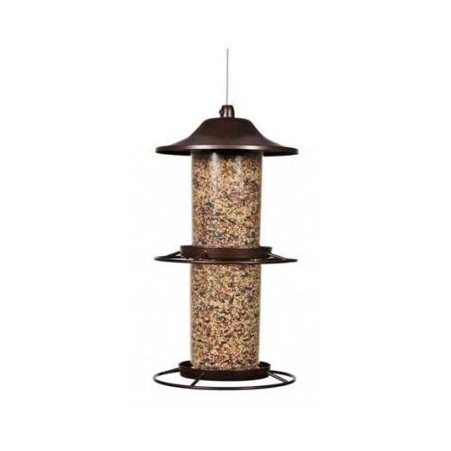 Perky Pet Evenseed 325S Panorama Bird Feeder, 4.5 lb Capacity