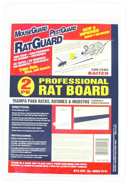 HBCRB 2PK RAT BOARDS