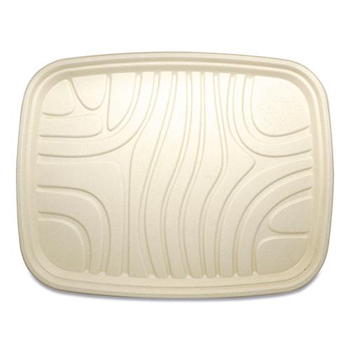 Fiber Trays, PLA Lined, PFAS Free, 18 x 14 x 1, Natural, 100/Carton