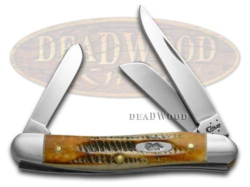 3578 BONE STAG STOCKMAN KNIFE