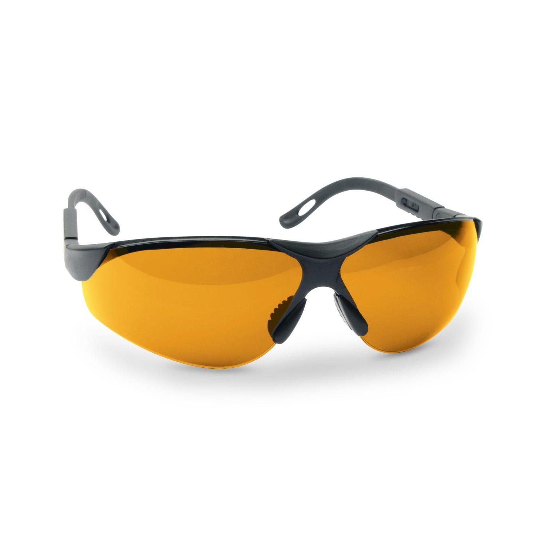 Walkers Premium Shooting Glasses Amber