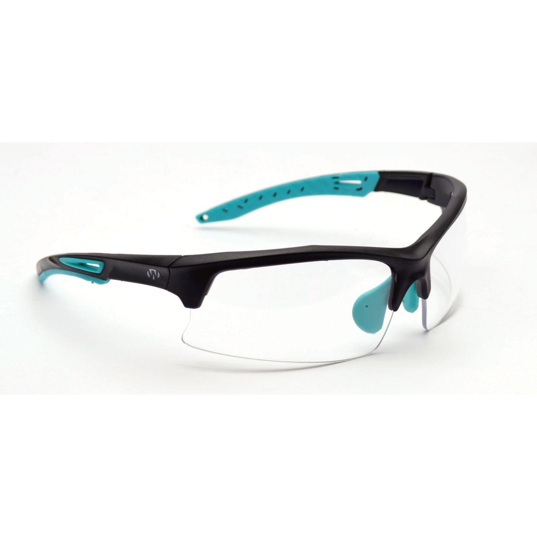 Walkers Teal Shooting Glasses Clear Lens