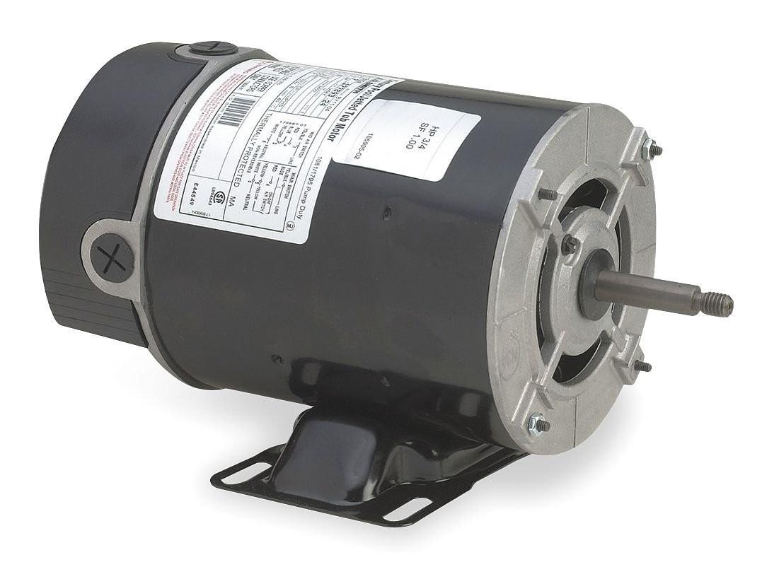 Motor, Thru-Bolt, 48Y, Century, 1.5 HP, 115/230V, 16.0/8.0 Amp