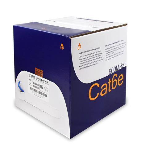 CAT6E 600 MHz CMR BLUE