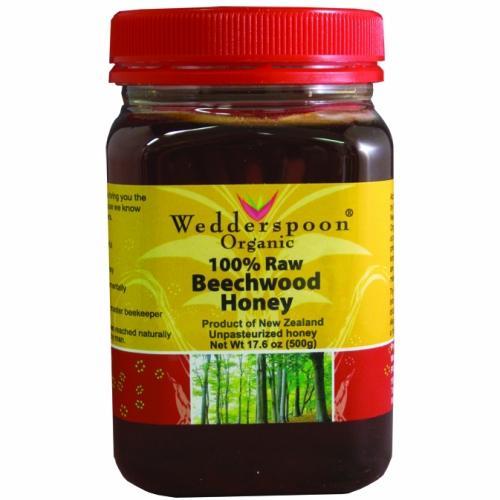 Wedderspoon Honey  Beechwood  100 Percent Raw  176 oz