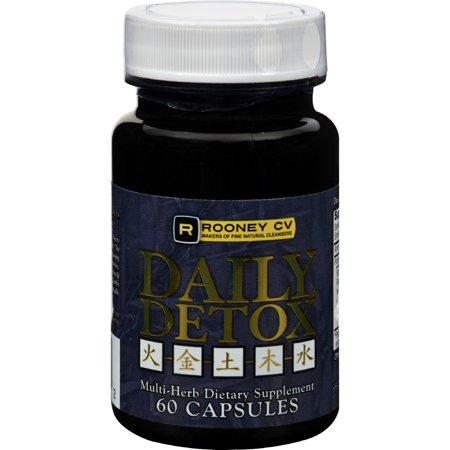 Wellements Rooney CV Daily Detox Multi Herb (60 Capsules)