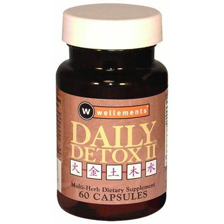 Wellements Daily Detox II Multi Herb (60 Capsules)