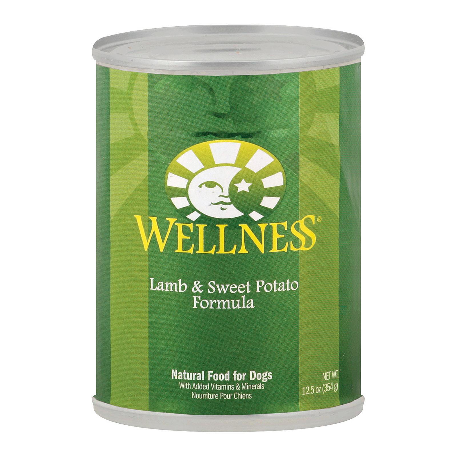 Wellness Dog Canned Sweet Potato & Lamb (12x125 Oz)
