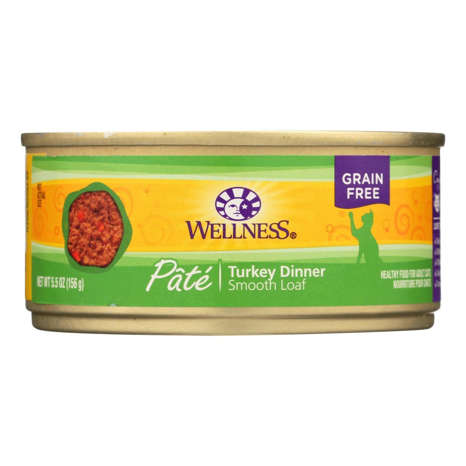 Wellness Canned Turkey Cat Food (24x55 Oz)