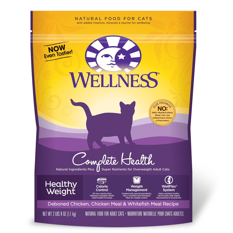 Wellness Healthy Weight Dry Cat Food (6x40 Oz)