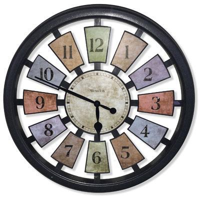 """18"""" Kalediscope Wall Clock"""