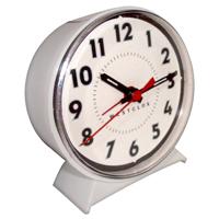 White Dial Ketwound AlarmClock