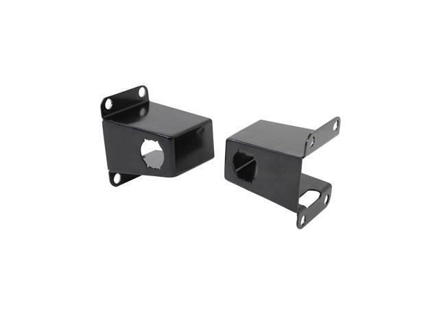 Grille Guard Sensor Relocator; Front; Black;