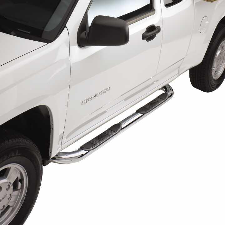 99-14 SILVERADO/SIERRA 1500/01-14 SILVERADO/SIERRA 2500/3500 EXT CAB E-SERIES POLISHED STEP BARS