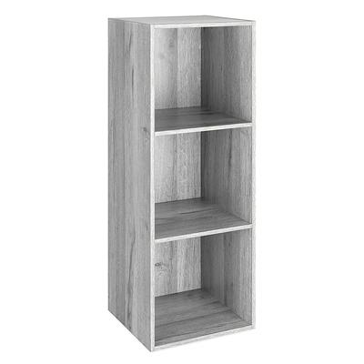 3 Section Cube Organizer Gray
