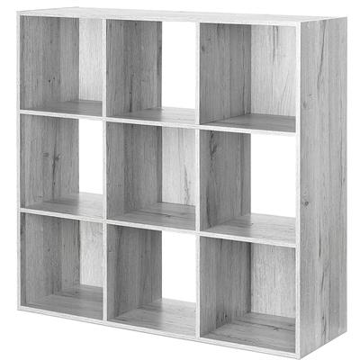 9 Section Cube Organizer Gray