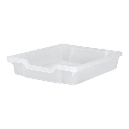 F1 Gratnell Plastic Tray Translucent