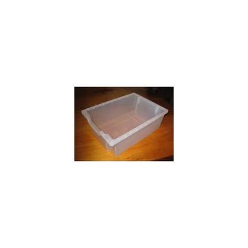 F2  Gratnell Plastic Tray Translucent
