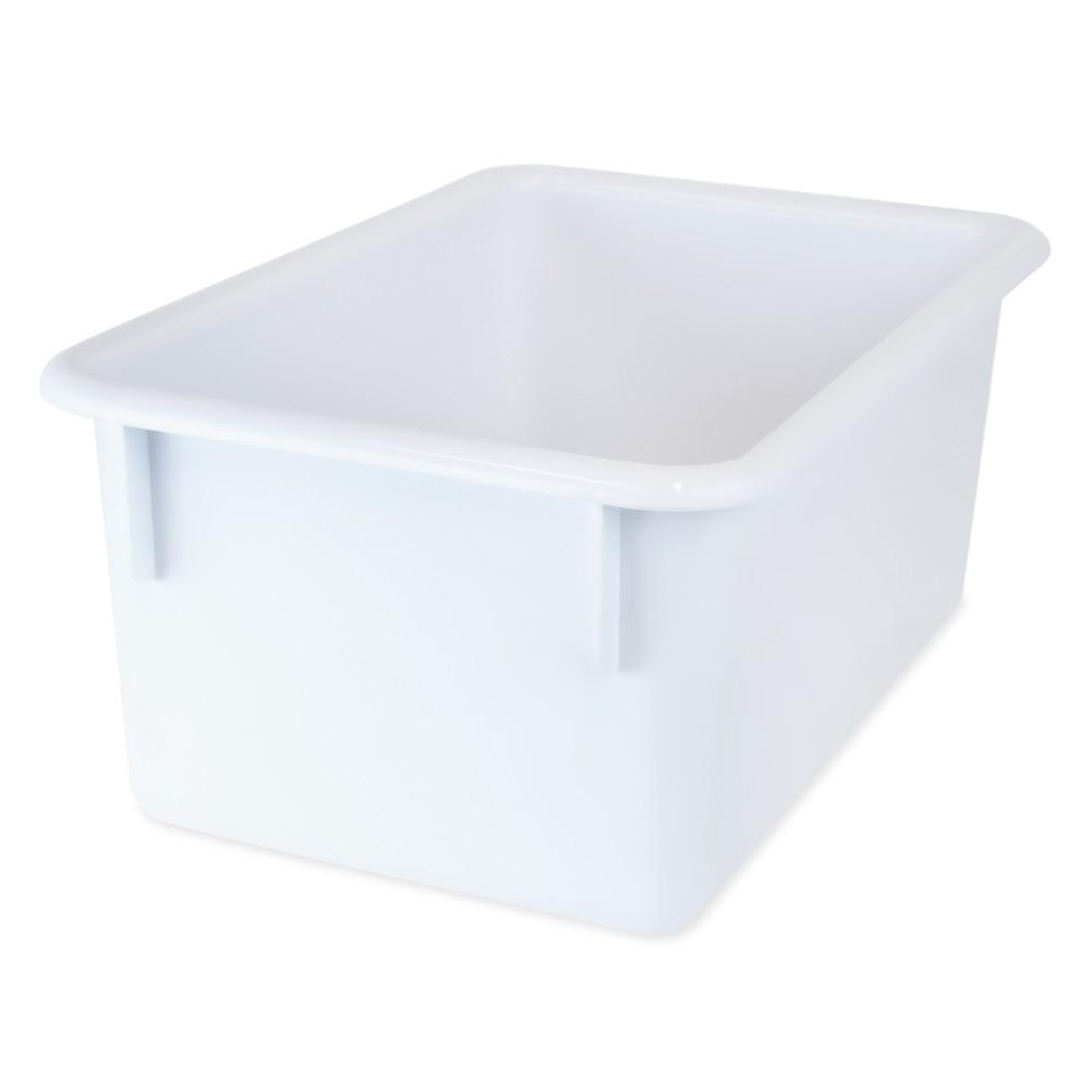 Super Tote Tray - White