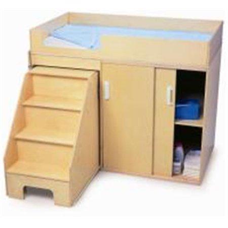 Ez Step Up Toddler Changing Cabinet