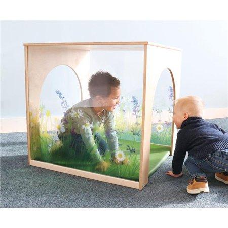 Nature View Playhouse Cube And Mat Set
