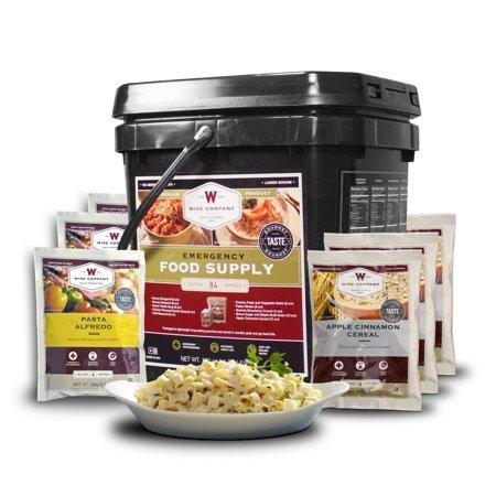 Wise Foods 84 Serving Breakfast/Entree Grab and Go Food Kit