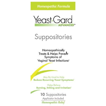 Women's Health Yeast-Gard Advanced Suppositories (1x10 Supp)
