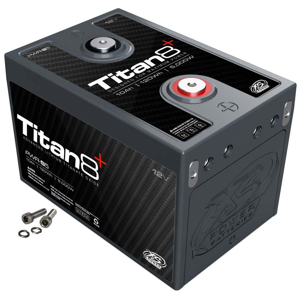 XS Power Titan 8 Lithium Battery 10AH 1000 CA 5000W