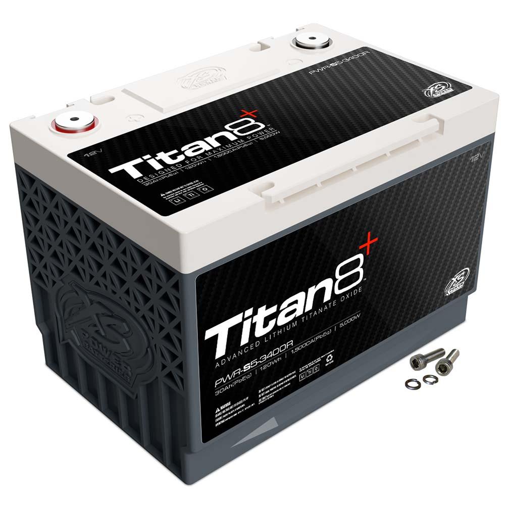 XS Power Titan 8 Lithium Battery  30AH 1500 CA 5000 W