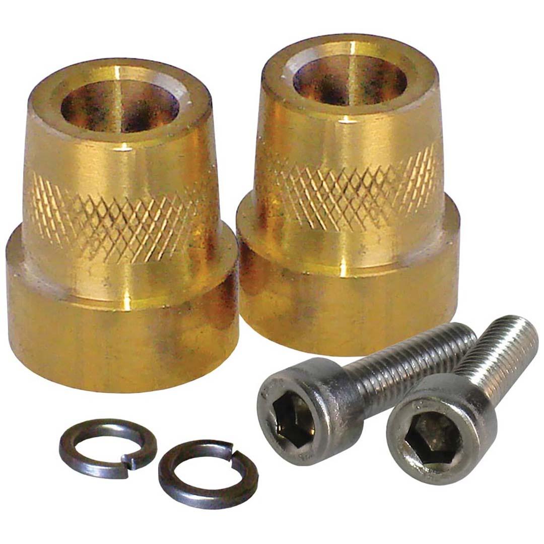XS Power Tall Brass Post Adaptors M6