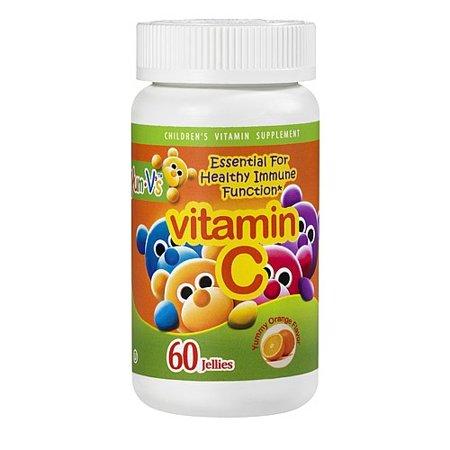 Yum V's Vitamin C Jellies Yummy Orange (60 Chewables)