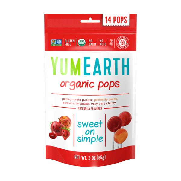 Yummy Earth Fruit Pop Pc Lollipop (1x3 Oz)
