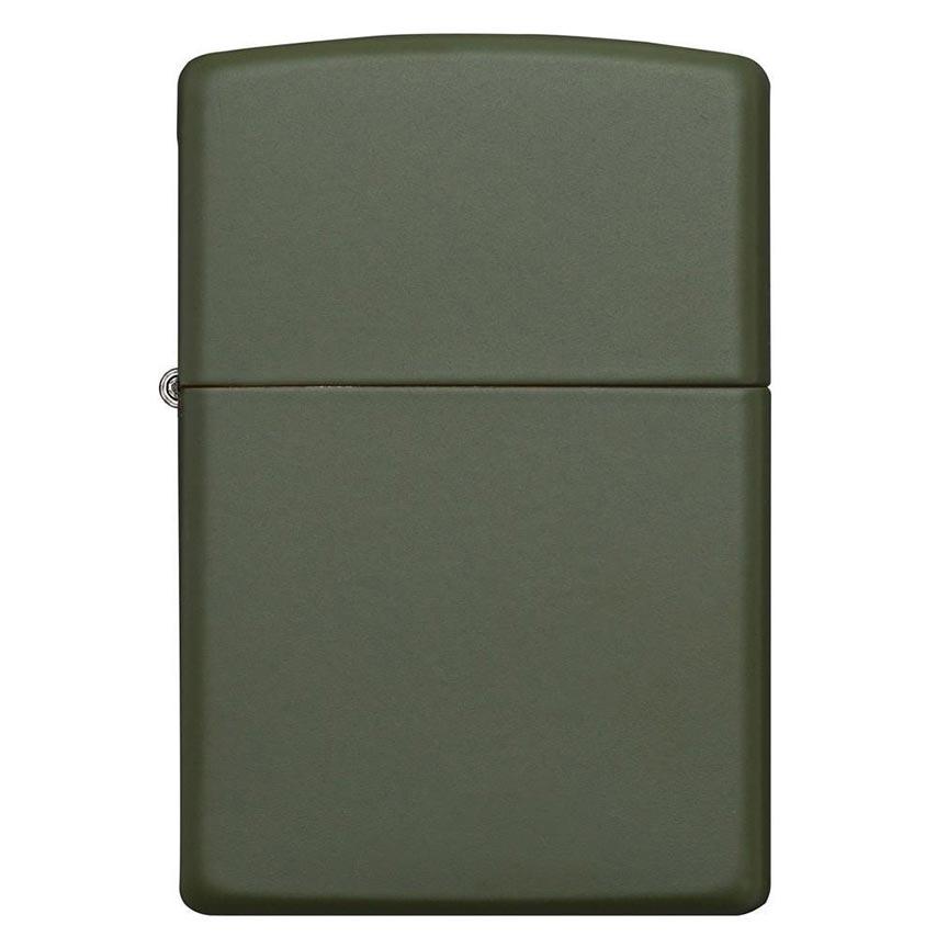 Zippo Windproof Lighter Green Matte