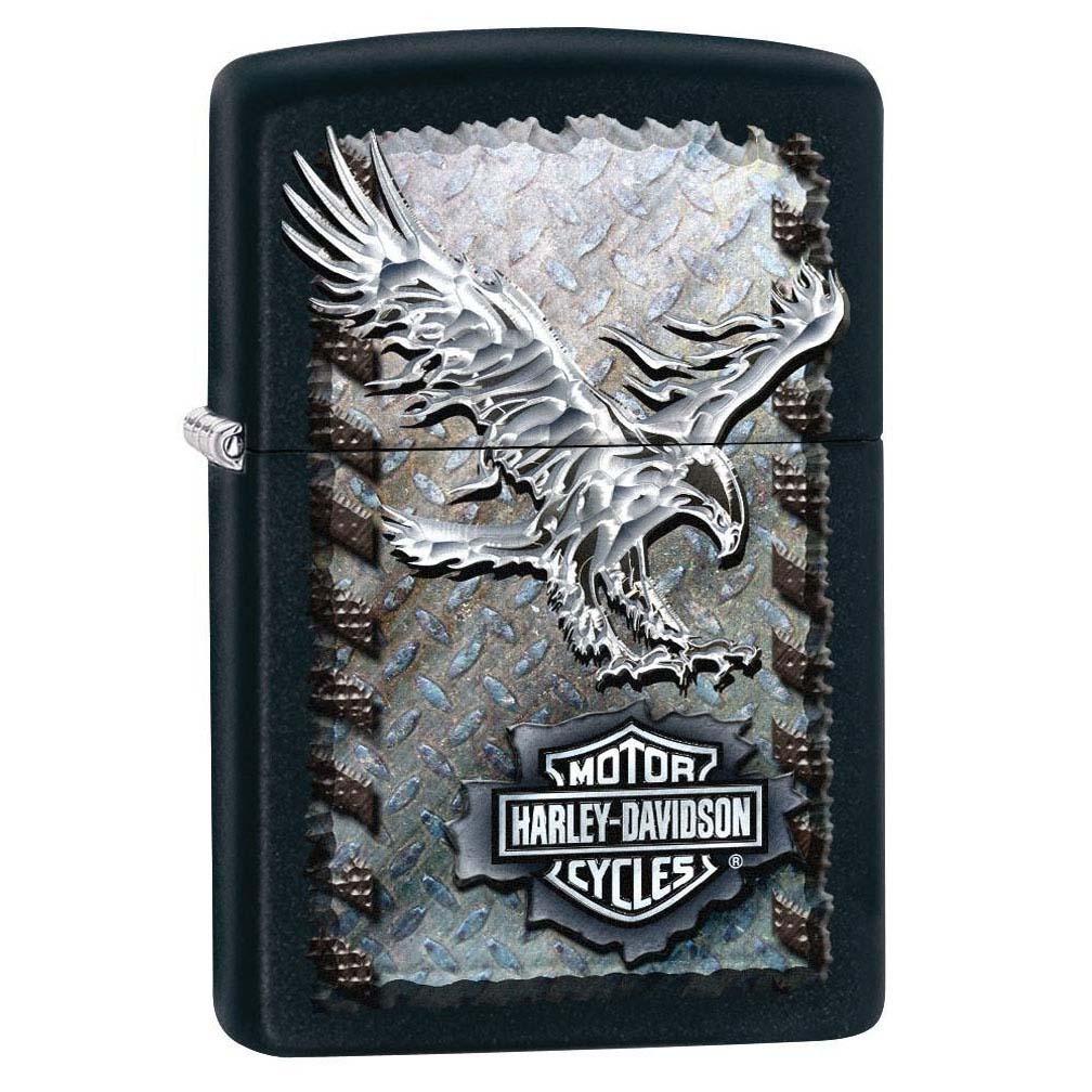 Zippo Harley-Davidson Iron Eagle Black Matte