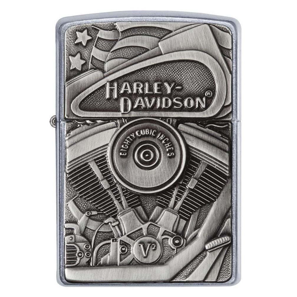 Zippo Harley-Davidson Street Chrome Motor Flag