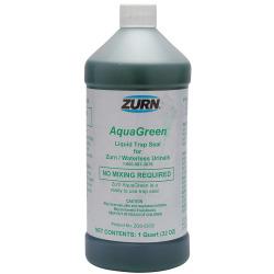 32OZ Bottle AQUA Green Waterless Urinal Seal