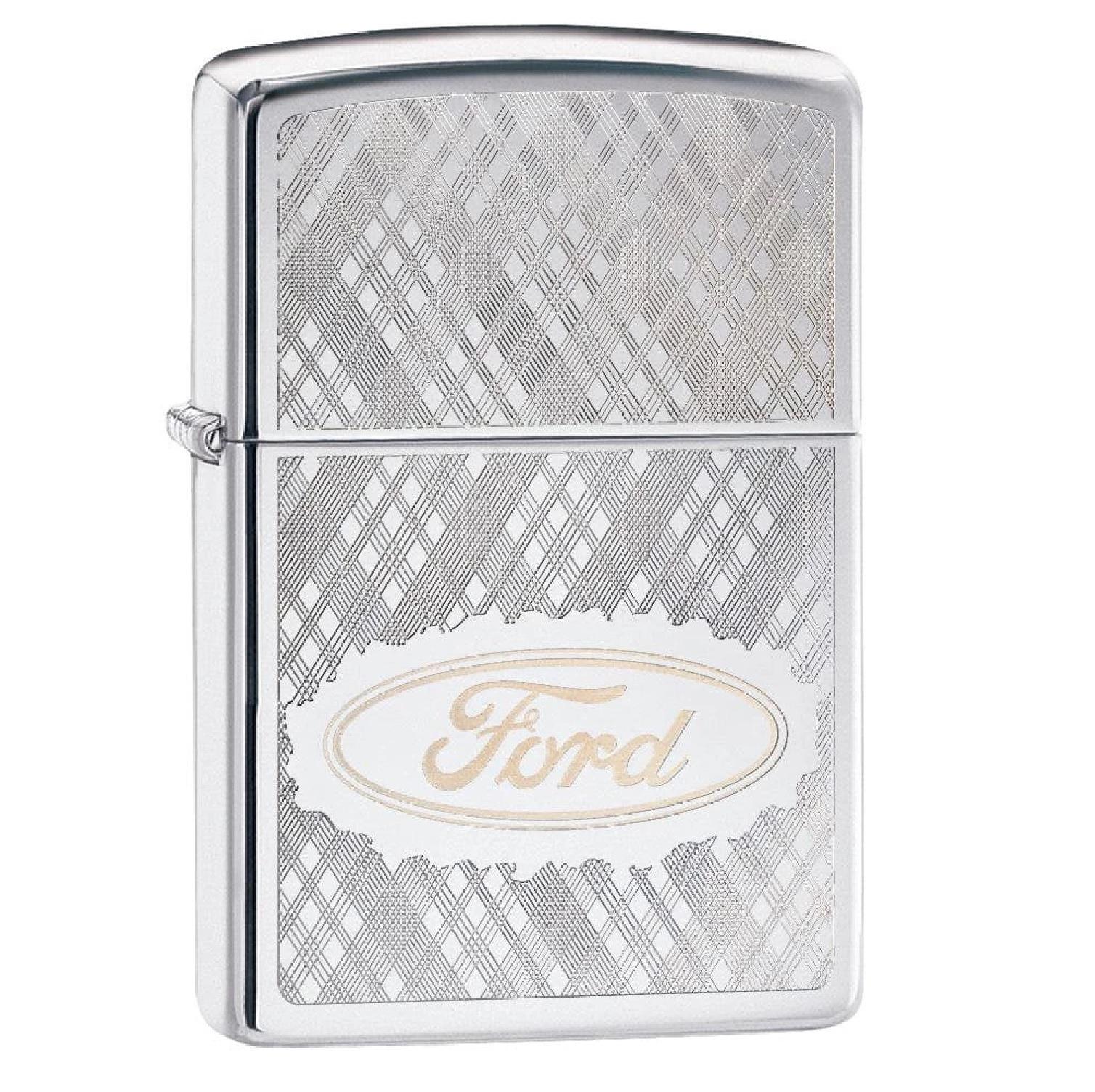 Zippo HP Chrome Ford Lighter