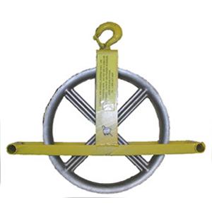 Hoisting Wheel with Hook